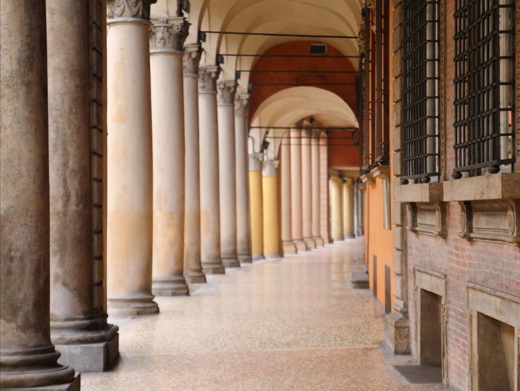 Portico di Via Santo Stefano - Matteo Santori - Bologna (BO)