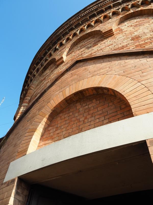 Rotonda della Madonna del Monte - sopra all'entrata - MarkPagl - Bologna (BO)
