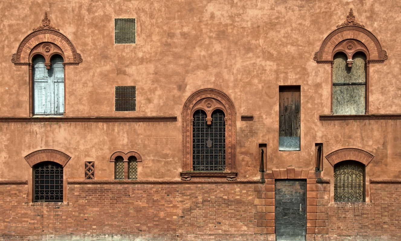 Mezzolara, villa Rusconi, particolari - Pierluigi Mioli - Budrio (BO)