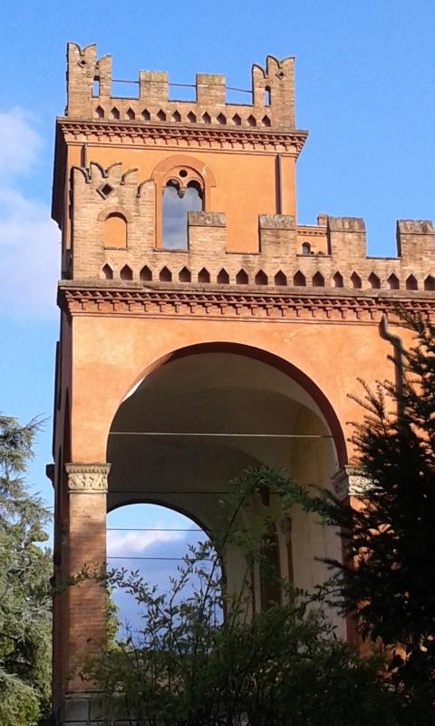 Particolare di Villa Rusconi - DanielaMangano - Budrio (BO)
