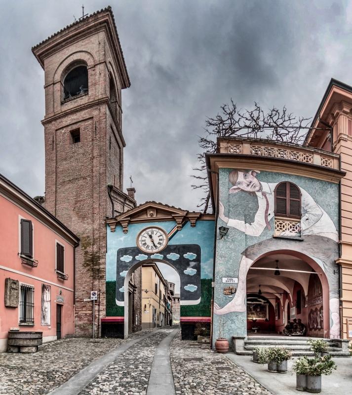 Dozza - Centro storico - Vanni Lazzari - Dozza (BO)