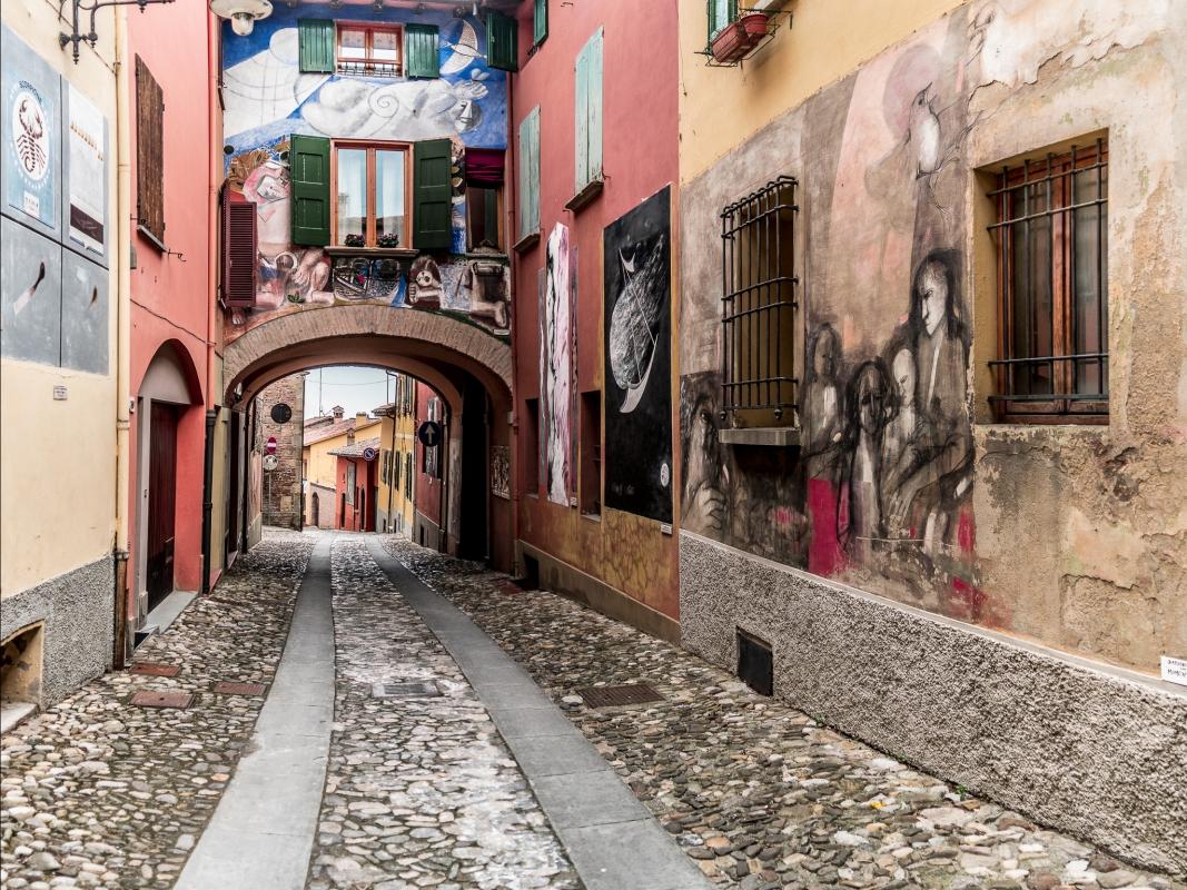 Il Borgo dipinto - Dozza - Vanni Lazzari - Dozza (BO)