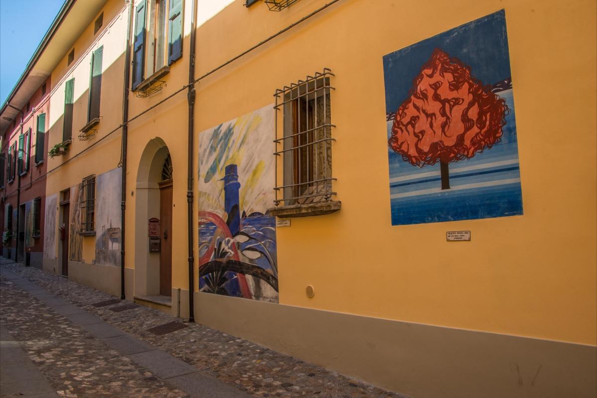 Dozza murales via XX Settembre - Wwikiwalter - Dozza (BO)