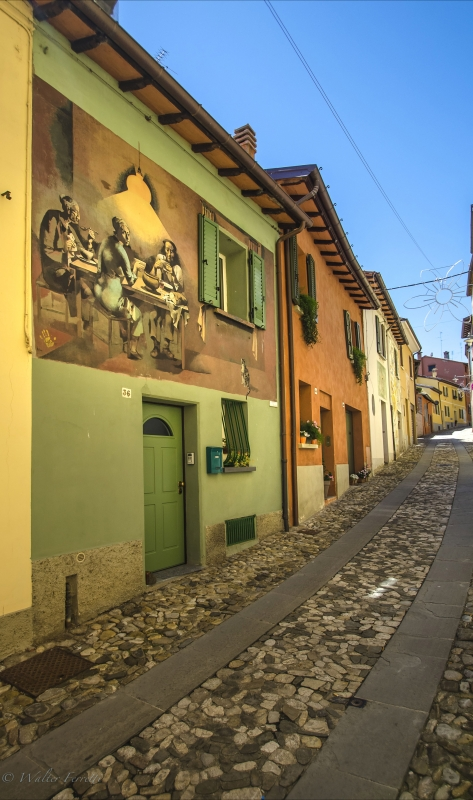 Dozza Via De Amicis la casa verde - Wwikiwalter - Dozza (BO)