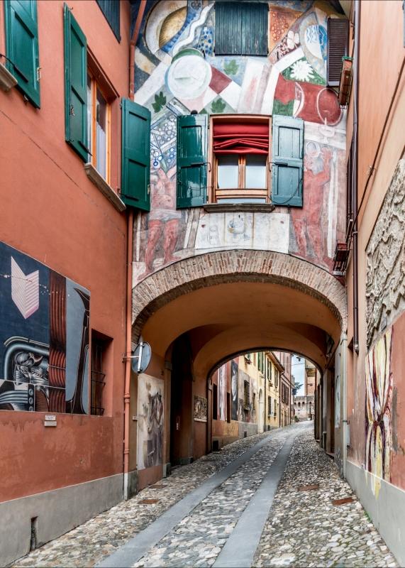 Le strade di Dozza - Vanni Lazzari - Dozza (BO)