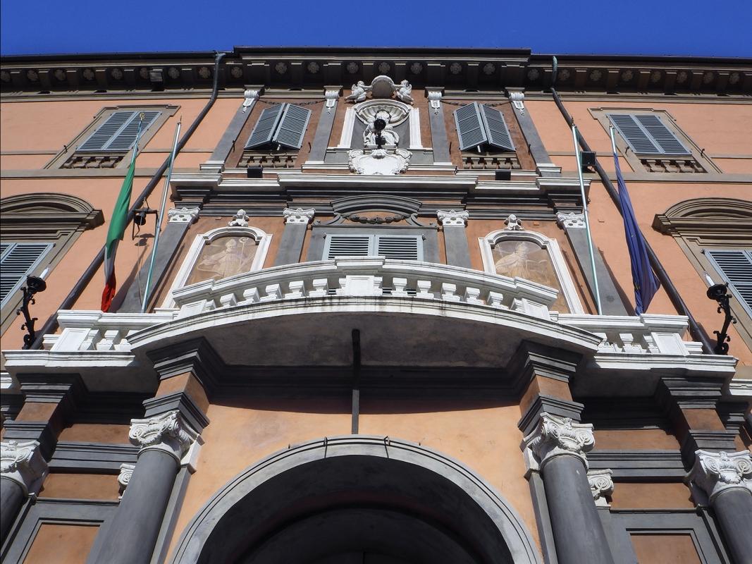 Imola, facciata del Palazzo Comunale - Bolorsi - Imola (BO)