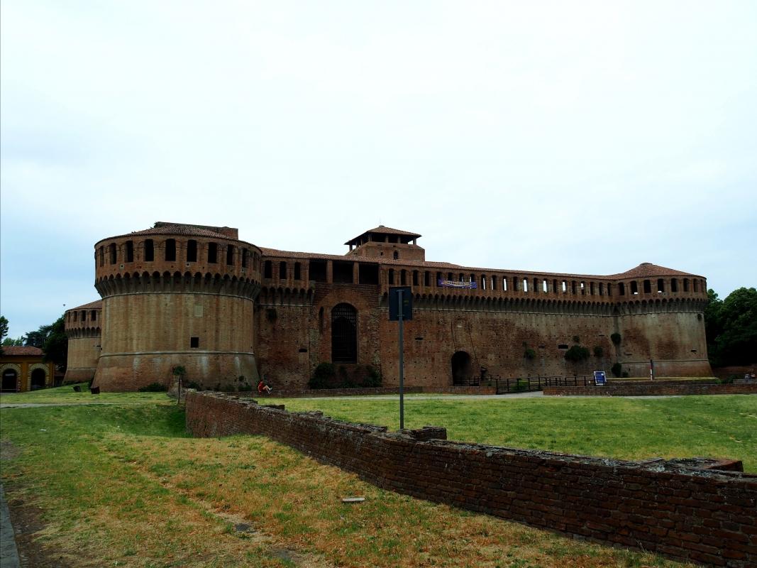 Rocca Sforzesca - facciata - MarkPagl - Imola (BO)