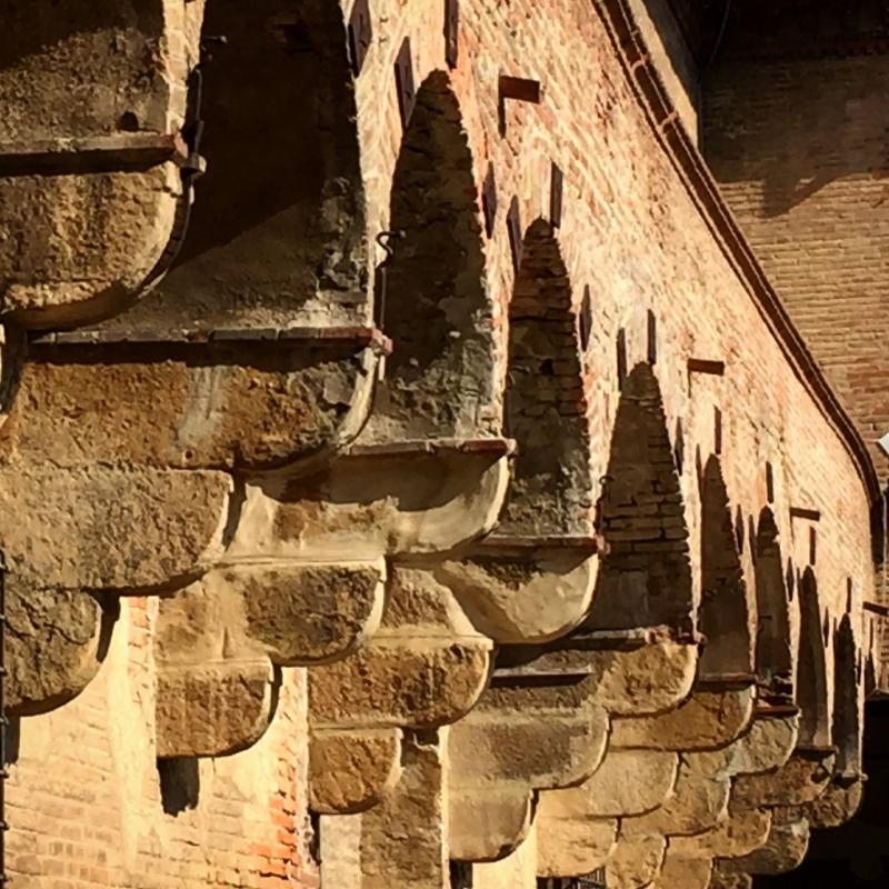 Castello di Bentivoglio - Particolare Corte interna - Clo5919 - Bentivoglio (BO)