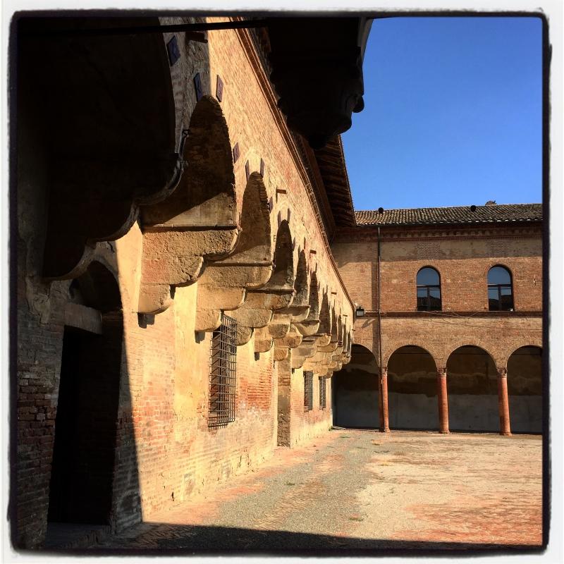 Castello di Bentivoglio - Corte interna - Clo5919 - Bentivoglio (BO)