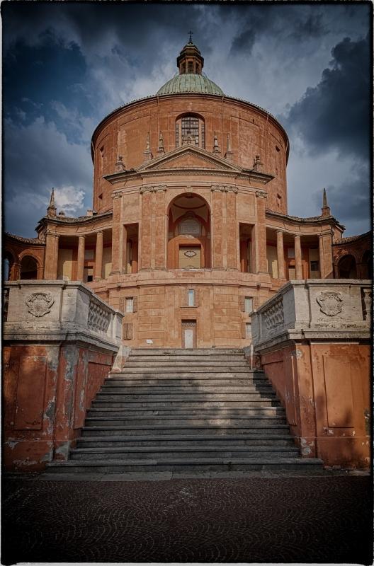 Bologna spettacolo Santuario della Beata Vergine di San Luca - Claudio alba - Bologna (BO)