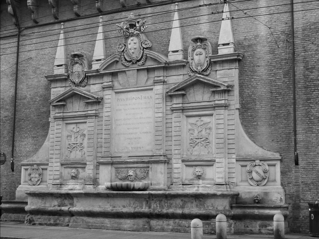 Fontana palazzo Comune Bologna - Sansavini Loredana - Bologna (BO)