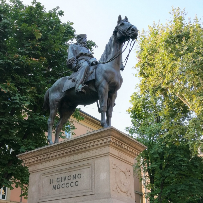 Garibaldi liberatore - Marmarygra - Bologna (BO)