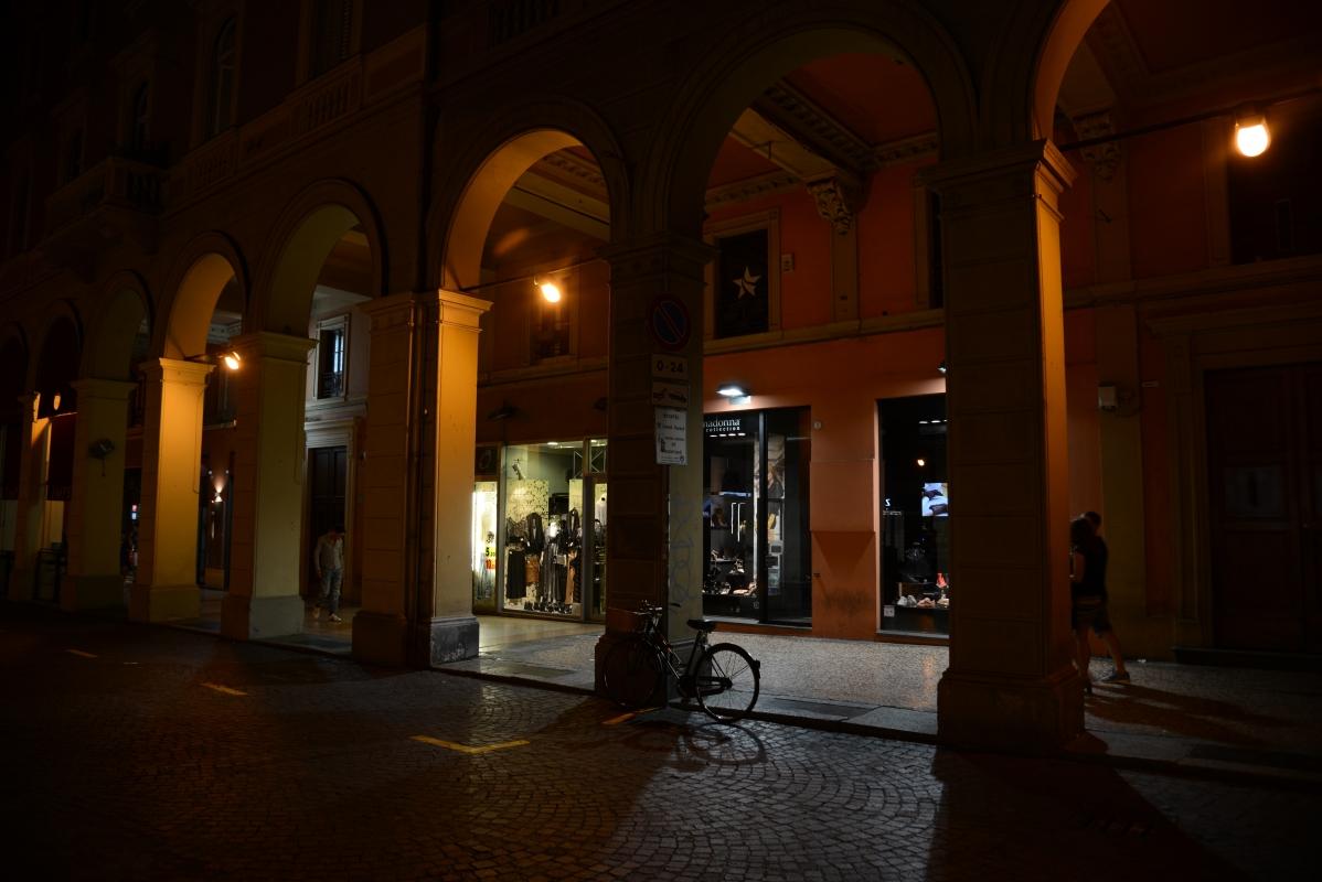 Bologna Portici di notte - FrancescoLama - Bologna (BO)