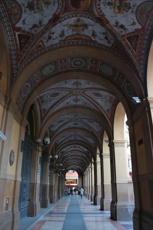 Portici infiniti - annagajano - Bologna (BO)