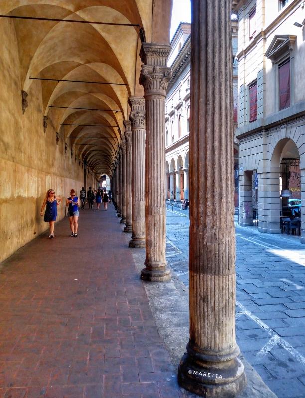 Portico di via Castiglione - Maraangelini - Bologna (BO)