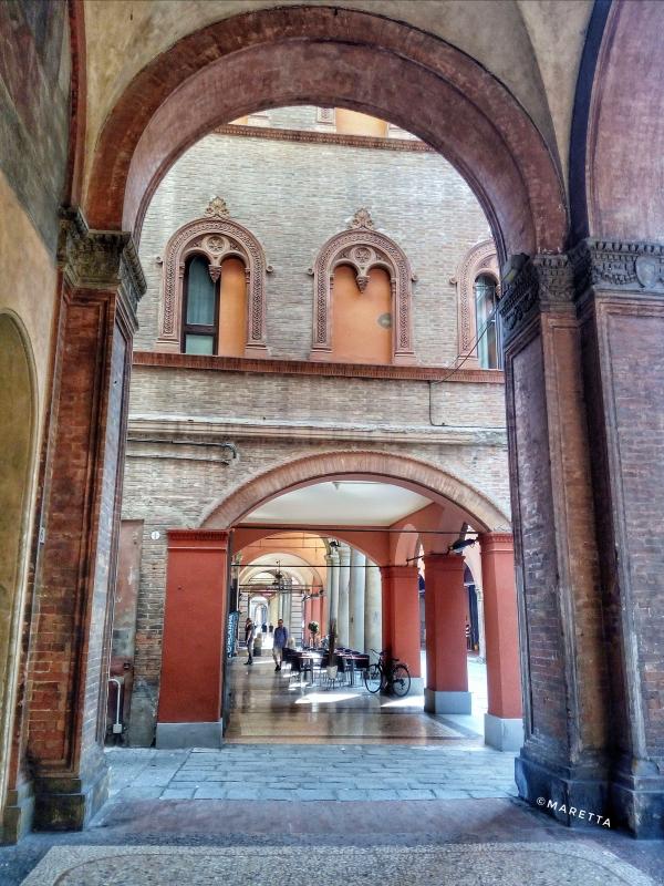 Portico di Strada Maggiore - Maraangelini - Bologna (BO)