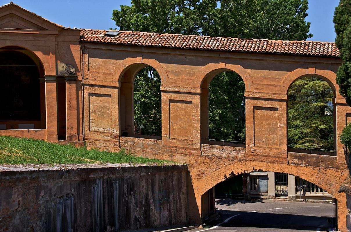 Soprapassaggio dei Portici di San Luca - Caba2011 - Bologna (BO)