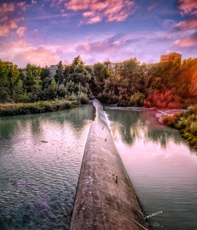 Fiume Reno chiusa di Casalecchio - Maraangelini - Casalecchio di Reno (BO)