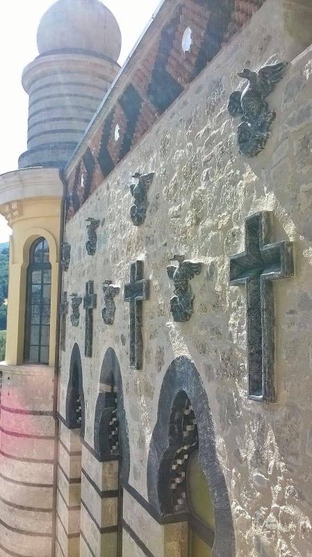 Muro sopra la cappella - Mbbest - Grizzana Morandi (BO)