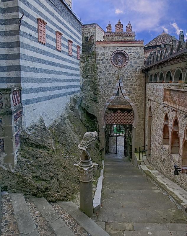 Ingresso con scalinata - Caba2011 - Grizzana Morandi (BO)