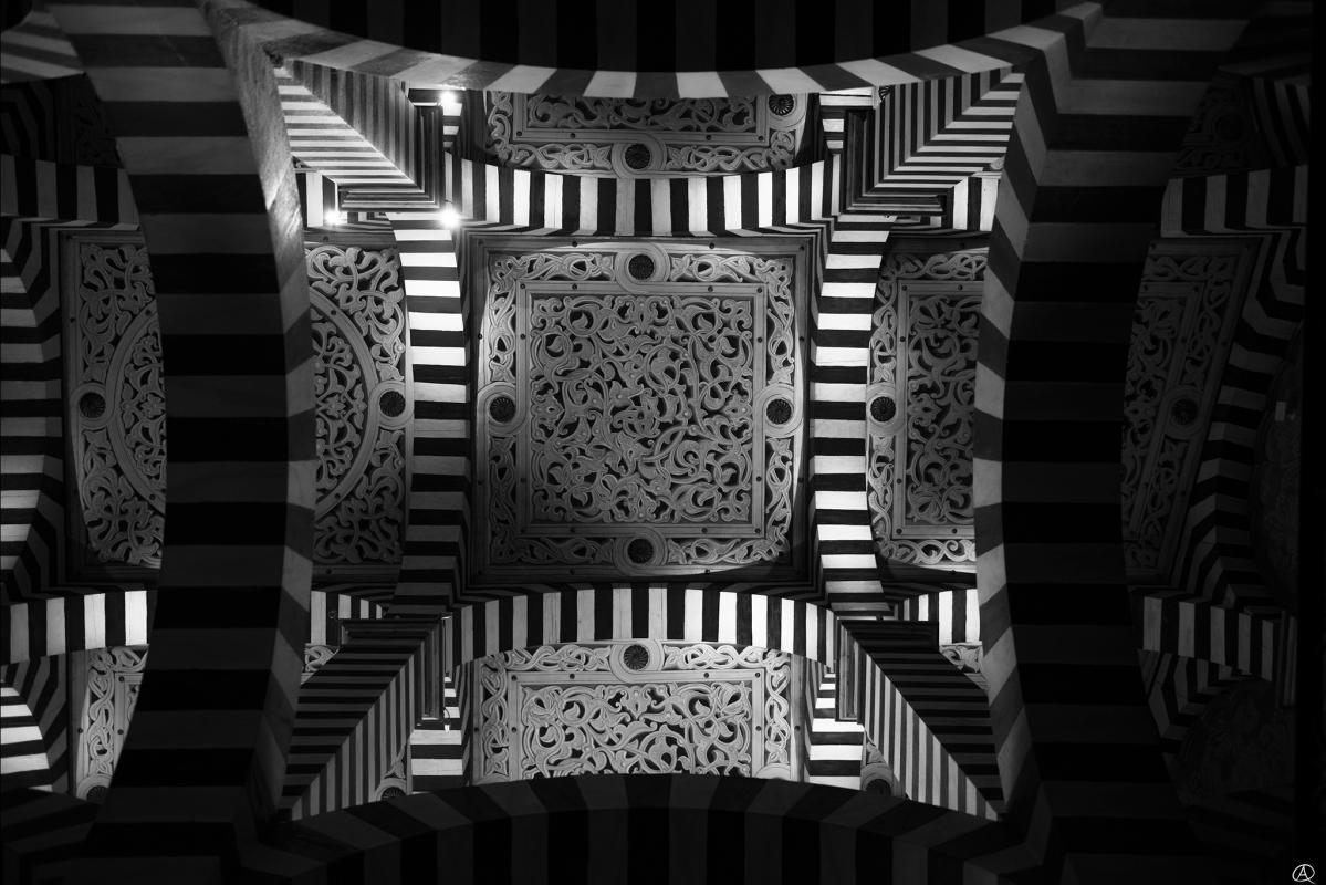 Soffitto interno bianco nero - Quart1984 - Grizzana Morandi (BO)