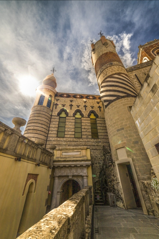 Rocchetta Mattei - Uno dei castelli più affascinanti d'Italia - Angelo nastri nacchio - Grizzana Morandi (BO)