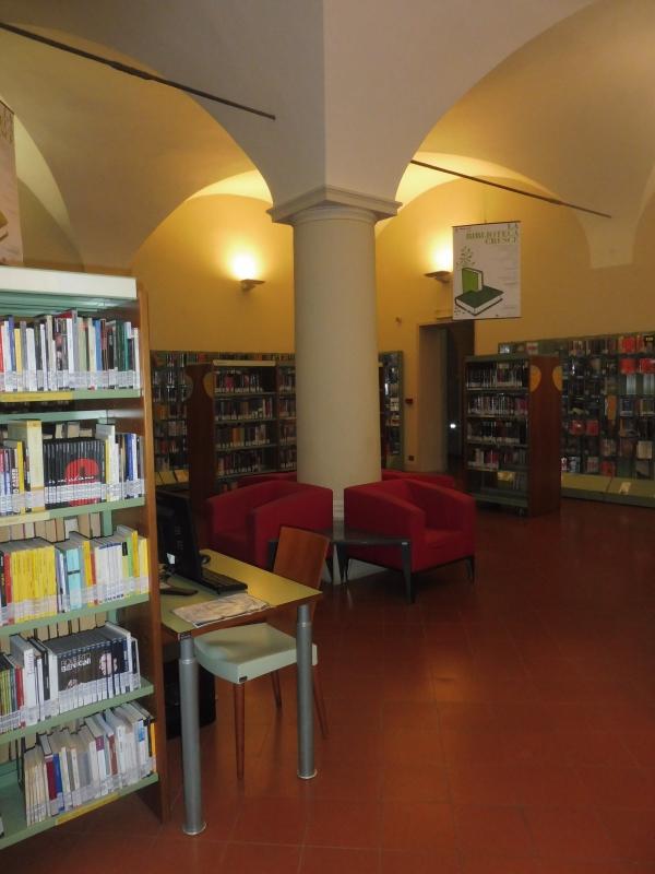 Biblioteca Comunale - sala - Maurolattuga - Imola (BO)