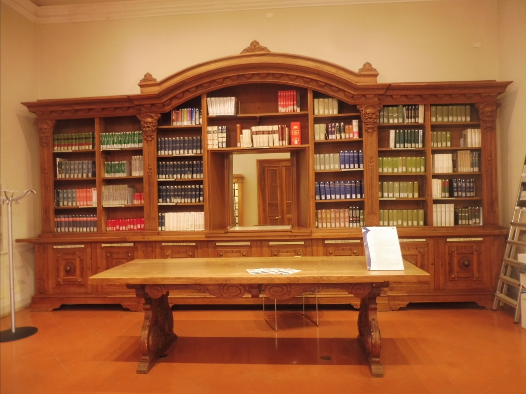 Biblioteca Comunale - dettaglio sala - Maurolattuga - Imola (BO)