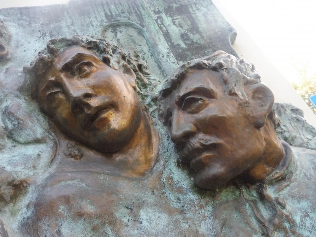 Monumento al II Corpo d'Armata Polacco - visi - MauroLattuga - Imola (BO)