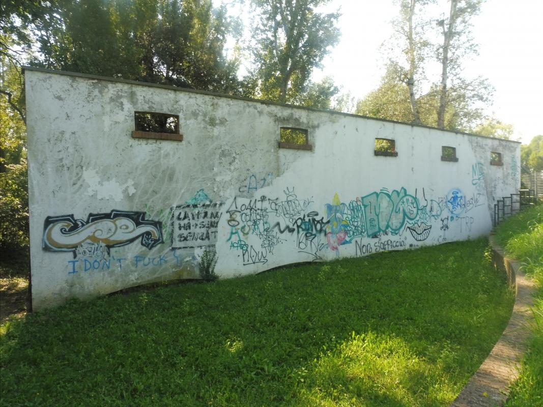 Parco delle Acque Minerali - murales - Maurolattuga - Imola (BO)