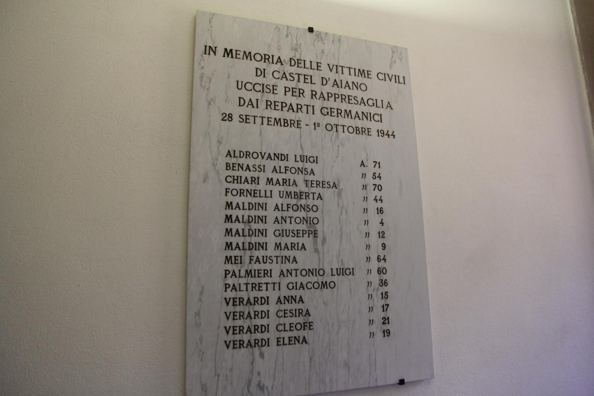 Marzabotto, sacrario ai caduti (45) - Gianni Careddu - Marzabotto (BO)
