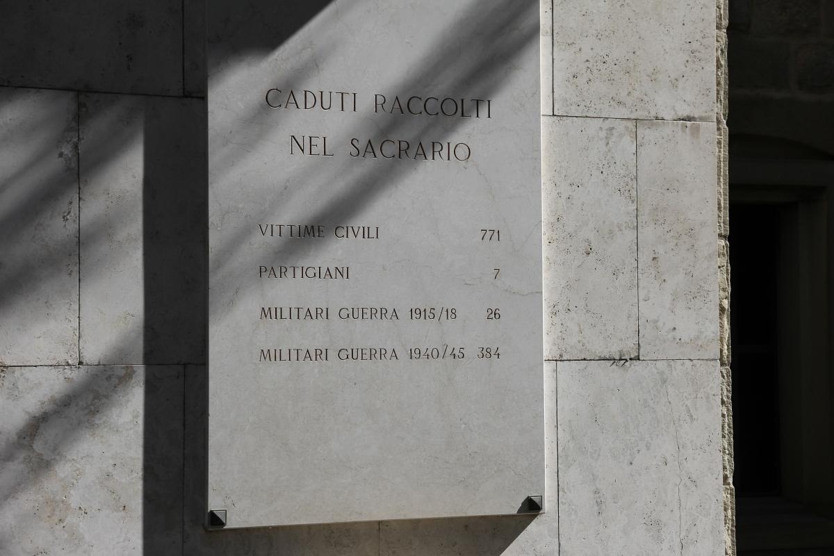 Marzabotto, sacrario ai caduti (16) - Gianni Careddu - Marzabotto (BO)