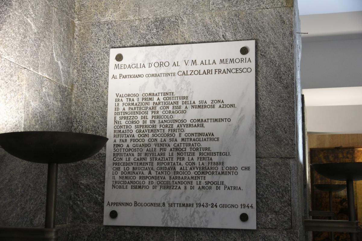 Marzabotto, sacrario ai caduti (38) - Gianni Careddu - Marzabotto (BO)