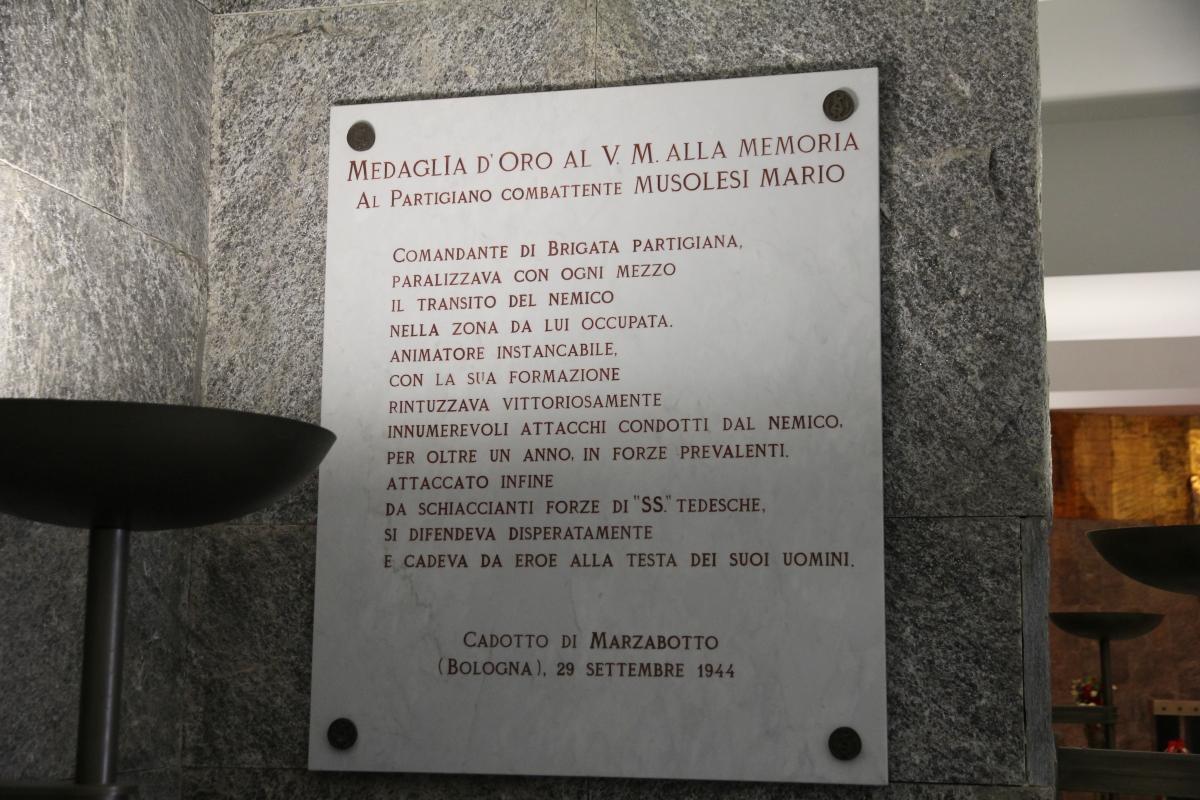 Marzabotto, sacrario ai caduti (36) - Gianni Careddu - Marzabotto (BO)