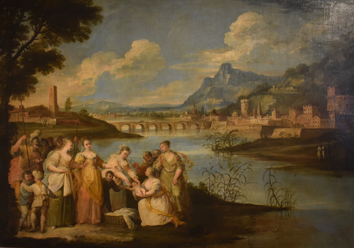 Giuseppe Zola ritrovamento di Mosè Pinacoteca Civica Pieve di Cento - Nicola Quirico - Pieve di Cento (BO)