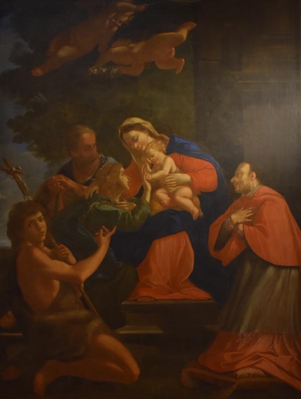 Aureliano Milani, Matrimonio mistico di Santa Caterina d'Alessandria, Pinacoteca Civica Pieve di Cento - Nicola Quirico - Pieve di Cento (BO)