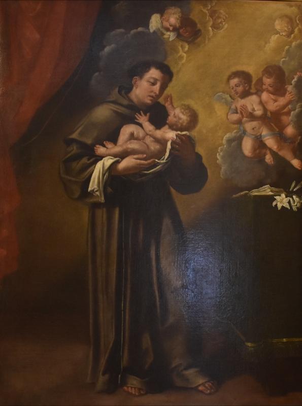 Ambito bolognese, Sant'Antonio da Padova con il Bambino, Pinacoteca Civica, Pieve di Cento - Nicola Quirico - Pieve di Cento (BO)