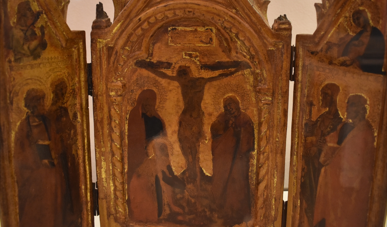 Simone dei Crocifissi, Trittico della Crocifissione, Pinacoteca Civica, Pieve di Cento 01 - Nicola Quirico - Pieve di Cento (BO)