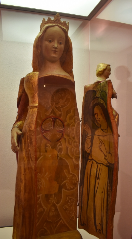 Ignoto scultore, Madonna con Bambino, Pinacoteca Civica Pieve di Cento - Nicola Quirico - Pieve di Cento (BO)