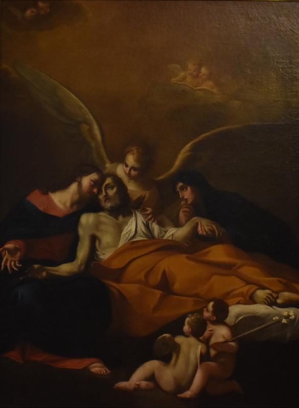 Giuseppe Maria Figatelli, Transito di San Giuseppe, Pinacoteca Civica Pieve di Cento - Nicola Quirico - Pieve di Cento (BO)