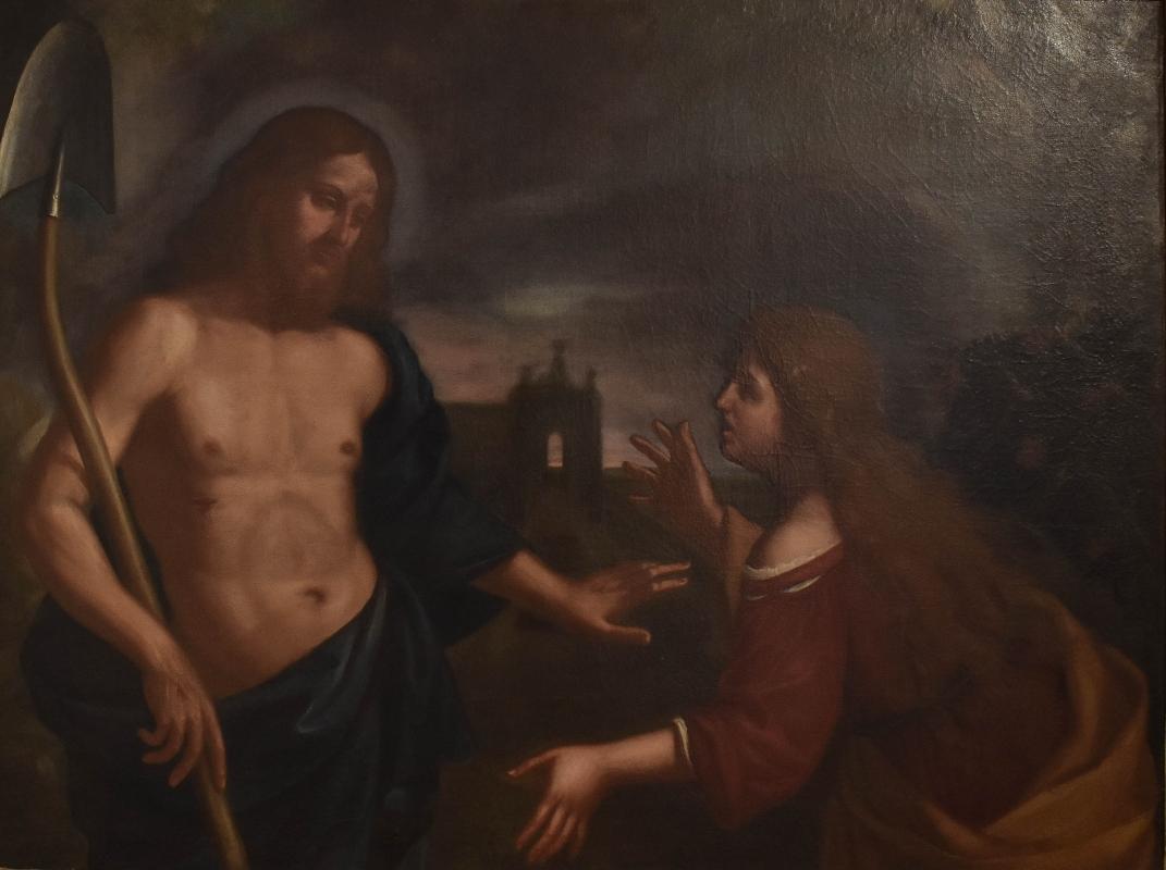 Ambito Gennari, Apparizione di Cristo risorto a Santa Maria Maddalena, Pinacoteca Civica Pieve di Cento - Nicola Quirico - Pieve di Cento (BO)