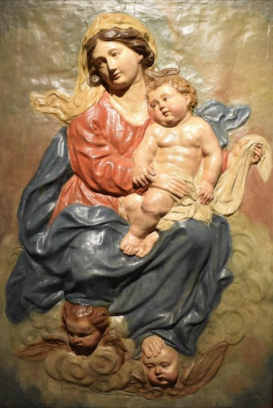 Ambito emiliano, Madonna con Bambino in gloria, Pinacoteca Civica, Pieve di Cento (Bologna) - Nicola Quirico - Pieve di Cento (BO)