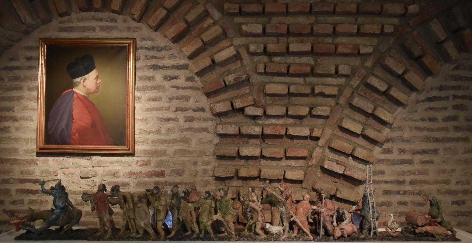 Mauro Mazzali, I Pivis a Massumadegh - Museo delle Storie di Pieve - Nicola Quirico - Pieve di Cento (BO)