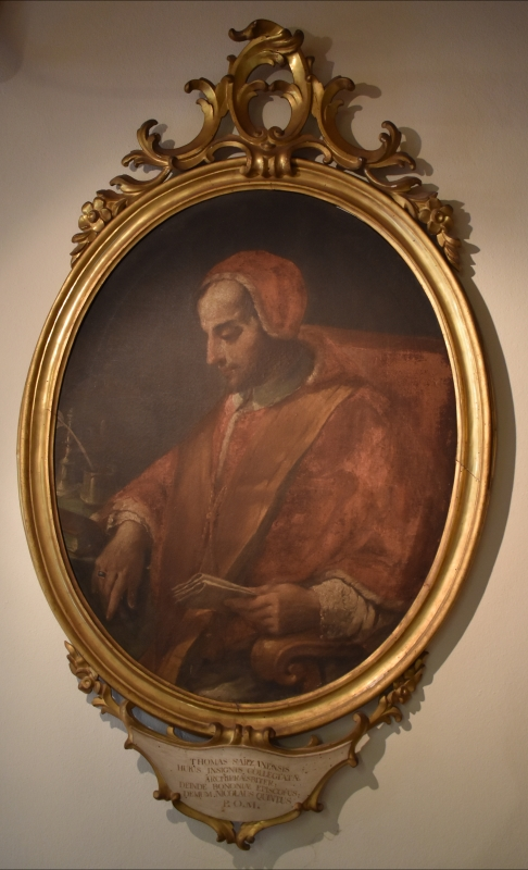 Ritratto di Thomas Sarzanensis Nicolaus V - Museo delle Storie di Pieve - Nicola Quirico - Pieve di Cento (BO)