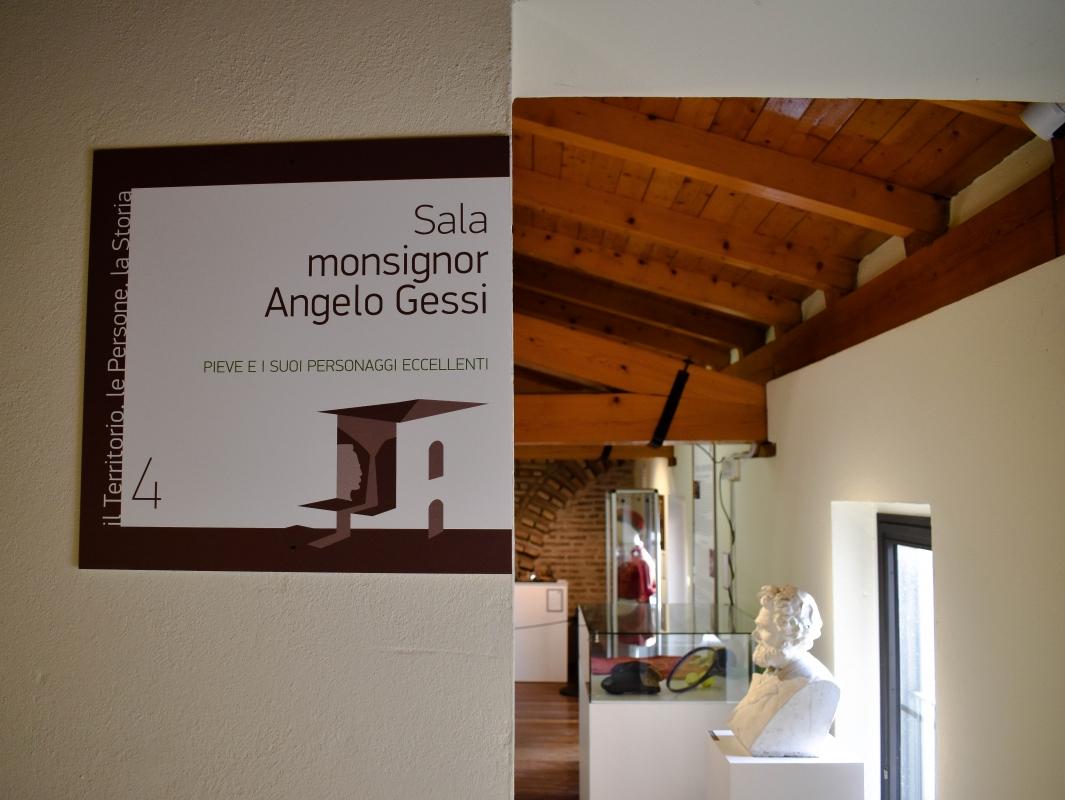 Sala monsignor Angelo Gessi - Museo delle Storie di Pieve - Nicola Quirico - Pieve di Cento (BO)