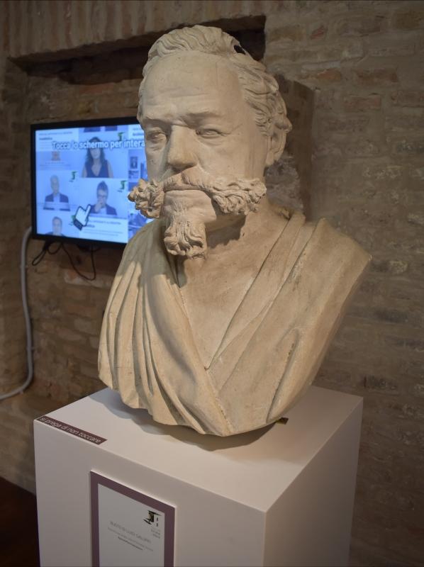 Giuseppe Zacchini, Busto di Luigi Galuppi, Museo delle Storie di Pieve - Nicola Quirico - Pieve di Cento (BO)