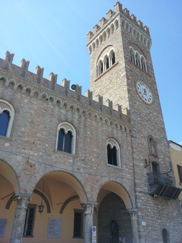 Palazzo Comunale e Torre dell'Orologio, Bertinoro - NoStressIvan - Bertinoro (FC)