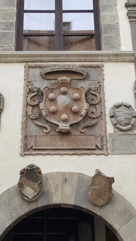 Palazzo del Capitano. Stemma mediceo - Marco Musmeci - Bagno di Romagna (FC)