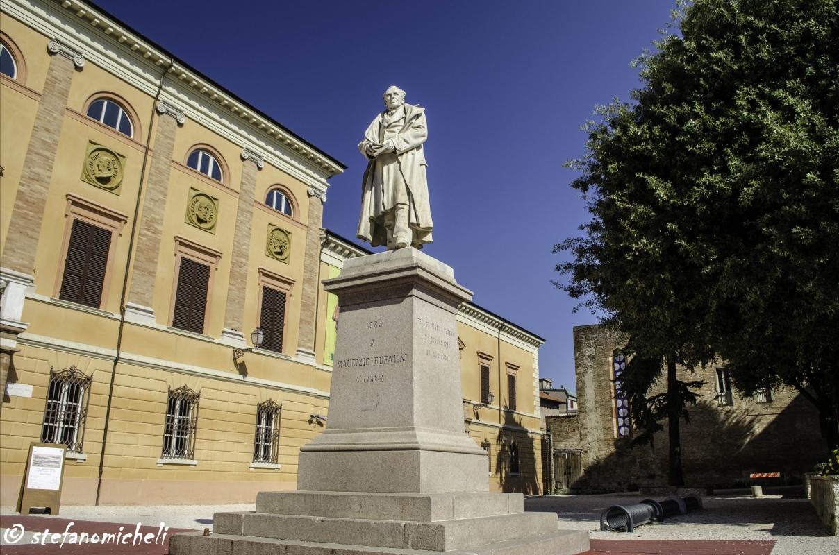 Piazza Bufalini - Cesena - DSC 7258 - Flash2803 - Cesena (FC)