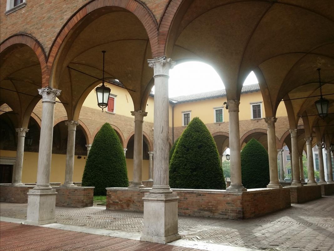 Chiostro Basilica San Mercuriale - Chiari86 - Forlì (FC)